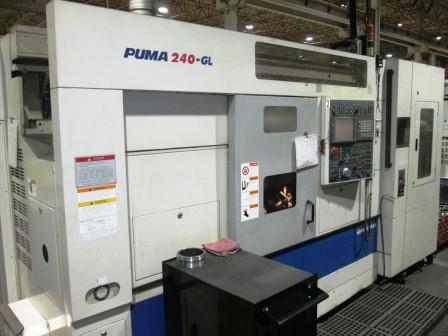 Used Daewoo Puma 240BGL - 2005 Turning Center