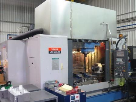 Used Mazak VTC 200/50-2003 Vertical Machine