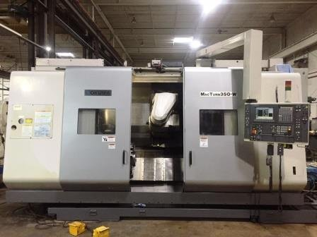 Used 2004 Okuma MacTurn 350W turning center