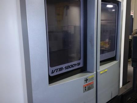 Used Okuma VTM 1200YB - 2012 Vertical Machine
