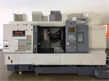 Used 2003 Mazak Integrex 200IIIST turning center