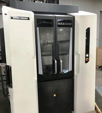 used 2016 DMG Mori MAX 3000 vertical machine