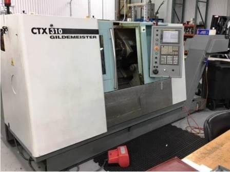 Used 2004 Gildemeister CTX 310 turning center