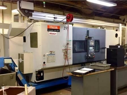 used 2002 Mazak Integrex 300IISY turning center