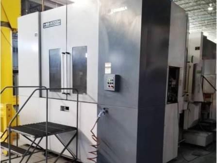 used 2011 Okuma MB 800H horizontal machine