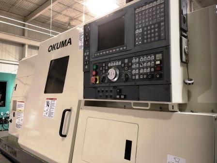 Used 2000 Okuma LB 400M turning center