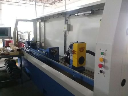 Used 2017 DeHoff G560-B1 gun barrel button rifling CNC machine