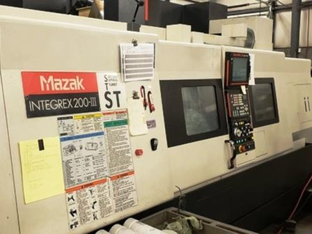 Used 2005 Mazak Integrex 200IIIST
