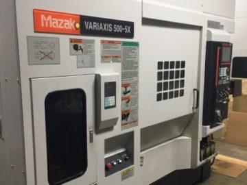 2005 Mazak Variaxis 500/5X