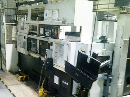 Used 2010 Mazak Multiplex 6300 w/Gantry