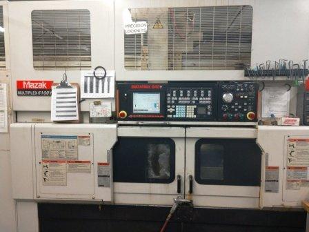 Used 2004 Mazak Multiplex 6100Y w/Gantry