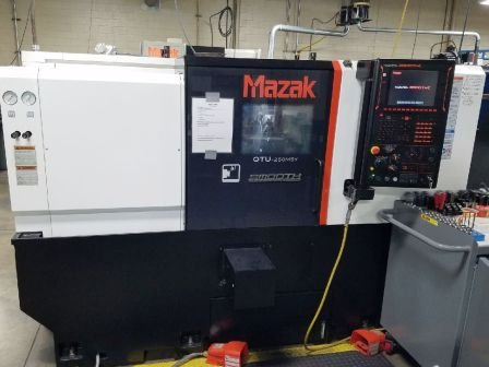 Used 2017 Mazak Quick Turn Universal 250MSY