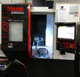 2017 Mazak VC 500A/5X