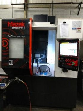 Used 2017 Mazak VC 500A/5X