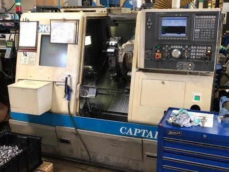 Used 2002 Okuma Captain L370