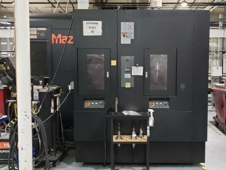 Used 2013 Mazak Variaxis i800 2PC