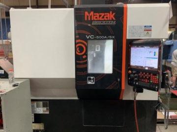 2017 Mazak VC 500A-5X